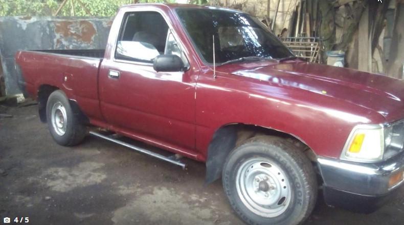 Usados: Toyota Hi-Lux 1990 motor 22R cama corta - Carros ...