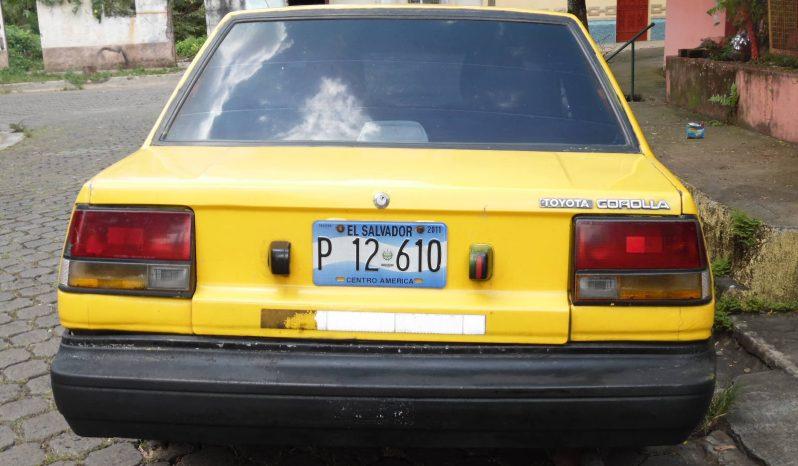 Usados: Toyota Corolla 1986 en Sonsonate full